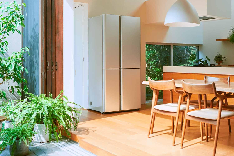 AQUA 薄型冷凍冷蔵庫 512L 4ドア AQR-TZ51H