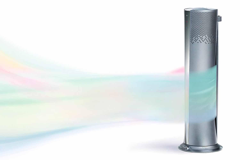 デロンギ 空気清浄機能付きスリムファン Clean&Cool CFX85WC